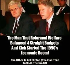 I'm Beth Rogers.... that's what the Clinton's do.  Very crafty, and deceitful.   Clinton taxed  Social Security so he could spend more tax $.  The economy was a benefit of the last two Presidents, esp. Reagan.  Bush also raised Taxes.