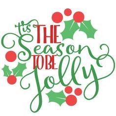Christmas 'Tis the Season Phrase SVG scrapbook cut file cute clipart files for silhouette cricut pazzles free svgs free svg cuts cute cut files