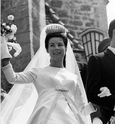 Monaco, Prince Hans, Royal Brides, Vintage Weddings, Royal Fashion, Princesses, I Dress, Europe, In This Moment