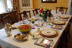 ~Passover table setting~