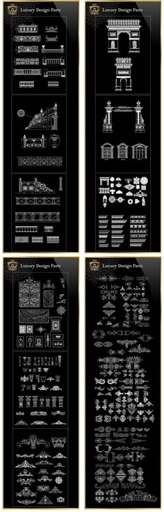 【Architectural CAD Drawings Bundle】(Best Collections!!) | Free Cad Blocks & Drawings Download Center