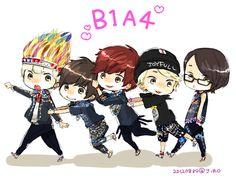 b1a4 fan art