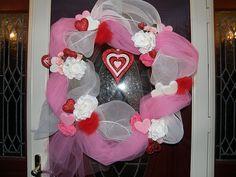 Mesh Netting & Tulle Wreath