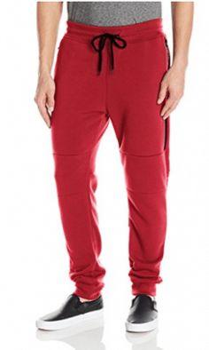 Southpole Men's Active Basic Jogger Fleece Pants (Moto and Zipper Details) Best Joggers, Fleece Joggers, Fashion Brands, Sweat Pants, Topshop, Zipper, Pocket, Amazon, Stuff To Buy