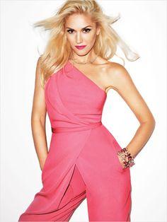 Pink Lady: Gwen Stefani, Harpersbazaar September 2012 Cover Girl