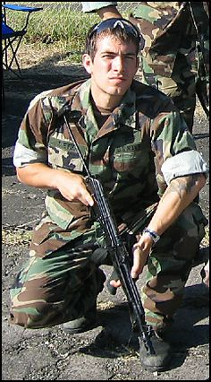 US Navy SEAL Danny Dietz, KIA in June 2005 during Operation Red Wings in Afghanistan.