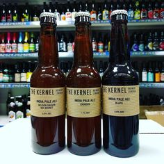 New Beers. Black IPA & 2 single hopped IPAs from @kernelbrewery in stock now