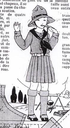 SEMAINE de SUZETTE_Bleuette Pattern,  1930