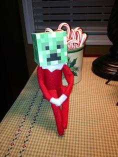 elf on a shelf | Minecraft Elf. | Elf on a Shelf