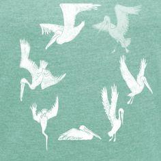Pelikane2_weiß Shops, Illustration, Etsy, Nature, Animals, Animales, Tents, Animaux, Illustrations