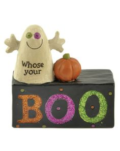 Whose Your Boo Block - Halloween