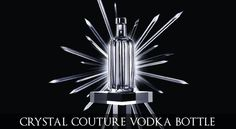 """Pernod Ricard launches Absolut Vodka Crystal Pinstripe which is """"the most exclusive and luxurious version of its iconic Absolut bottle"""". Absolut Vodka, Christmas Decorations To Make, Christmas Diy, Wine Drinks, Alcoholic Drinks, Pernod Ricard, Lightning In A Bottle, Crystal Decanter, Ad Art"""