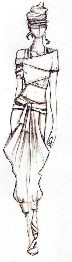 Be Inspirational❥|Mz. Manerz: Being well dressed is a beautiful form of confidence, happiness & politeness #FashionSketches