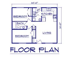 1000 images about small home design on pinterest floor for 24x30 house plans