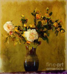 """""""Roses In Bloom"""" artist Marcia Lee."""