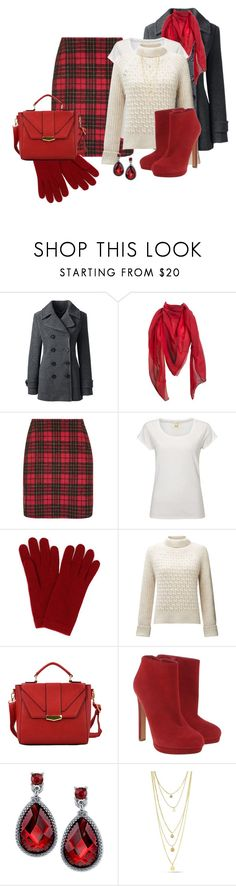 """""""Warm Winter Outfit"""" by mozeemo ❤ liked on Polyvore featuring Lands' End, Hermès, Topshop, White Stuff, L.K.Bennett, Somerset by Alice Temperley, HaveBest, Alexander McQueen and 2028"""