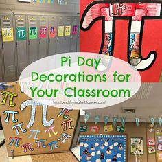 Pi Day Classroom Decorations