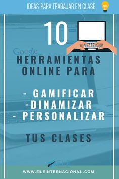 Aplicaciones para gamificar. Tics para clase Herramientas online para crear materiales #spanishteacher #profedeele Professor, Virtual Class, Innovation, Flipped Classroom, School Games, Science Classroom, Classroom Management, Teaching Resources, Teacher