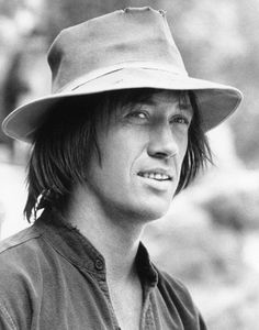 David Carradine: Kung Fu - loved this show