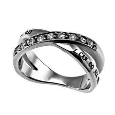 'Christ My Strength' - Women's Radiance Ring