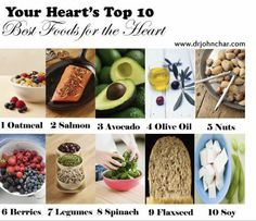 Also from God's Garden of Eden-this beautiful shot of the Top 10 Heart Healthy Foods