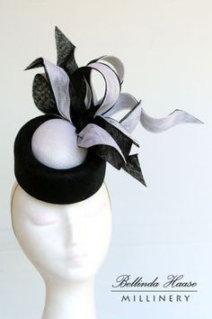 Crystal BY BELLINDA HAASE #millinery #hats #HatAcademy