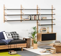 Design Forum Blog - Nordic Lights, Shelf System, Sofa Bed, New Homes, Shelves, Furniture, Collection, Home Decor, Night