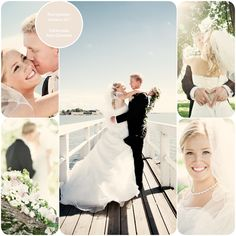 Gorgeous bride - wedding portraits by the sea