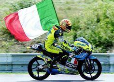 Valentino Rossi 1996 Aprilia RS125 Team Scuderia AGV