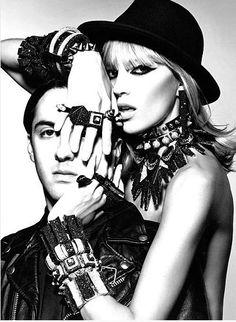 116 best the art of rock images contemporary fashion neiman Ken Auster Counterculture punk jewelry punk princess rocker chic jason wu kate moss marchesa