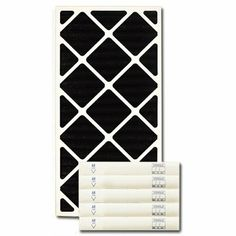 """12 X 24 X 2 Carbon Pleated Filter by Exact Match. $67.83. 12 X 24 X 2 Carbon Pleated Filter (actual size 11.38"""" X 23.38"""" X 1-3/4"""") These premium quality odor reduction carbon impregnated pleated filters are interchangeable with existing HVAC filters. The filter provides moderate dust/particulate holding capabilities but does not carry a MERV rating as it's primary function is the control of odors. Odorous gases and vapors are attracted to and held by the unique proper..."""