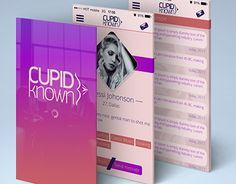 "Check out new work on my @Behance portfolio: ""Cupid Known - dating app concept"" http://on.be.net/1zGzr77"