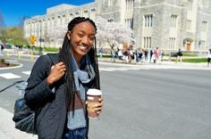 Nneoma Nwanko of Lagos, Nigeria who will graduate in May with a degree in political science in the College of Liberal Arts and Human Sciences is named Virginia Tech Student of the Year. She is minoring in public and urban affairs and creative writing. She has maintained a 3.9 grade point average while engaging in domestic and international service and research on issues facing girls and women in developing nations. Nwanko studies the negative effects of poor menstrual hygiene management