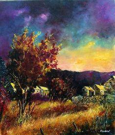 Autumn colors in Herhet