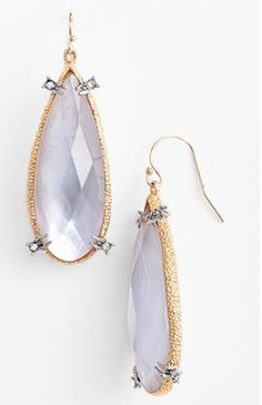 lavender drop earrings http://rstyle.me/n/wuq8wbna57
