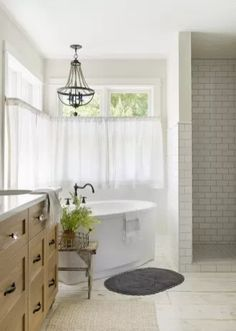 Modern French Country Home - Beautiful Chaos Companies French Country House, Bathroom Styling, Country Bathroom Designs, Modern Country Bathrooms, Farmhouse Master Bathroom, Wood Floor Pattern, Modern French Country, Modern Country