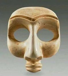 Sumerian Face of a Worshipper. This beautifully carved face would have originally belonged to a complete statue carved in composite from different colored stones.iraq dating 4.700 years ago