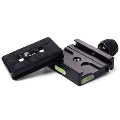 Quick-Release-Plate-Metal-Clamp-for-Manfrotto-Arca-Swiss-Tripod-BallHead-DC463