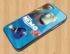 sm483 Finding Nemo Turtle and Friend for IPhone Case Apple Phone iPhone 4 4S Case Cover