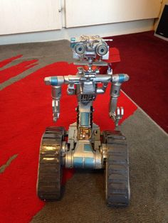 Toy Johnny Five robot