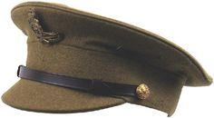 British WWI Artillery officer peaked cap