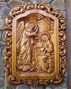 Catholic Art, Religious Art, Wooden Art, Wooden Doors, Dremel Carving, Laser Cutter Ideas, Pooja Room Design, Christian Artwork, Chip Carving
