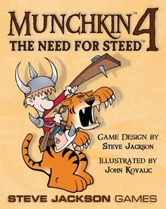 Munchkin 4 The Need For Steed by Steve Jackson Games, http://www.amazon.com/dp/B003S9W4FO/ref=cm_sw_r_pi_dpp_dnqJsb1B2G6MW