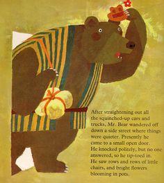 Helpful Mr. Bear - written by Chizuko Kuratomi, illustrated by Kozo Kakimoto (1966)