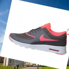 2015 nike air max thea bianco dark grigio hyper punch donna sport scarpe vendita online foot
