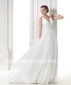 2015 Princess Wedding Dresses by Pronovias Style MANAMI by promgown