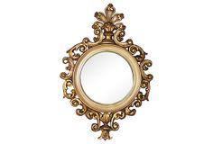 Florentine Round Mirror on OneKingsLane.com