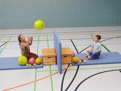 Children's gymnastics is called . Physical Activities For Kids, Motor Skills Activities, Gross Motor Skills, Physical Education, Fun Activities, Kids Gym, Kids Sports, Pediatric Ot, Diabetic Dog