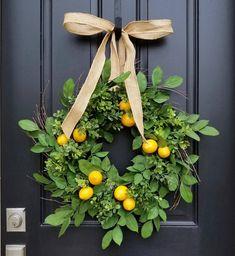 Lemons Wreath - Spri