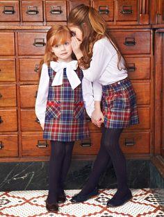 plaid // Oscar de la Renta childrenswear